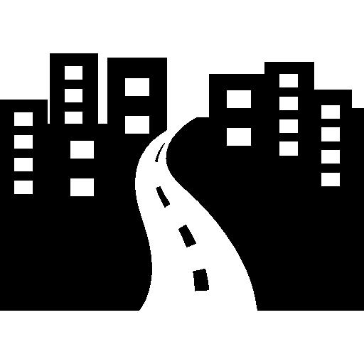 City avenue perspective  free icon