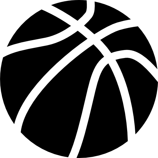 Ball of basketball  free icon