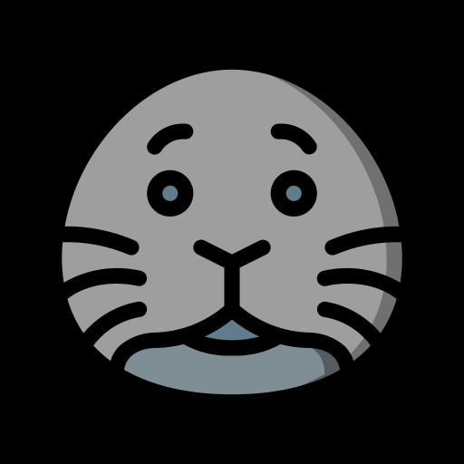 Seal  free icon