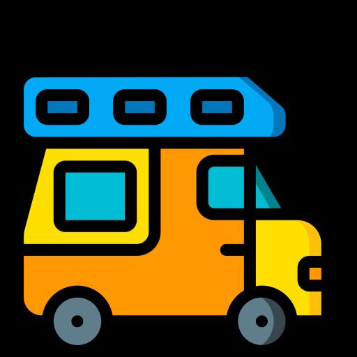 caravane  Icône gratuit