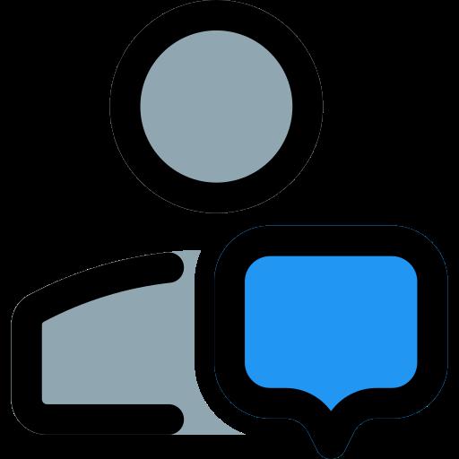 Speechbubbles  free icon