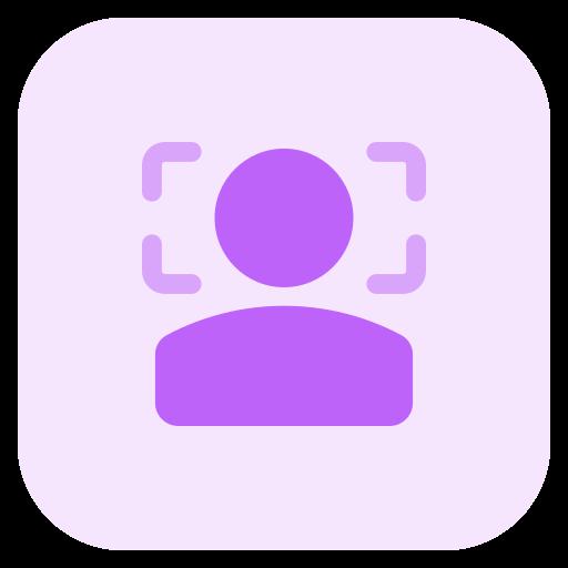 gesichtserkennung  kostenlos Icon