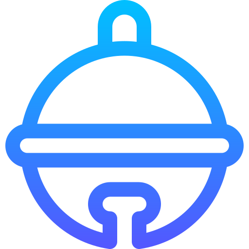 Sleigh bell  free icon