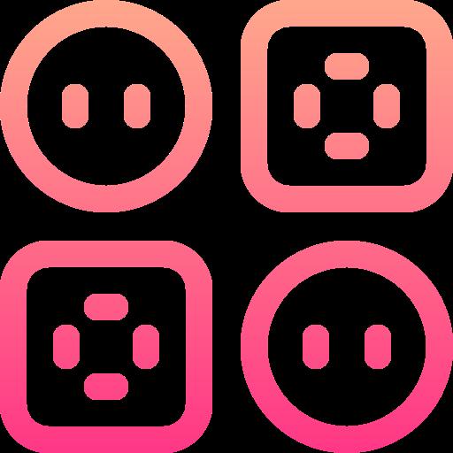 Clothing button  free icon