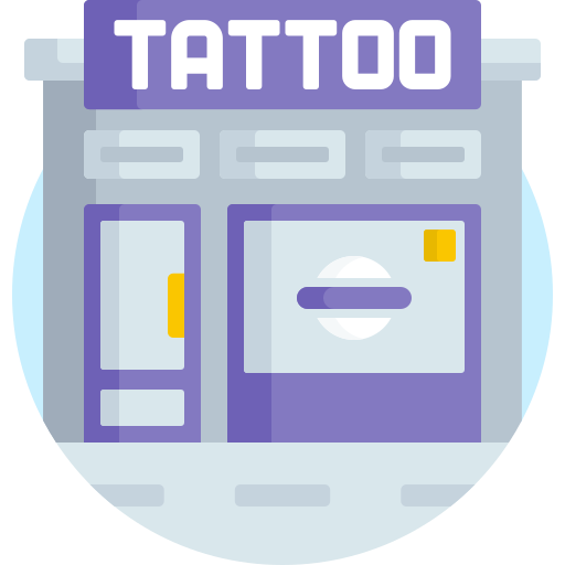 salón de tatuajes  icono gratis