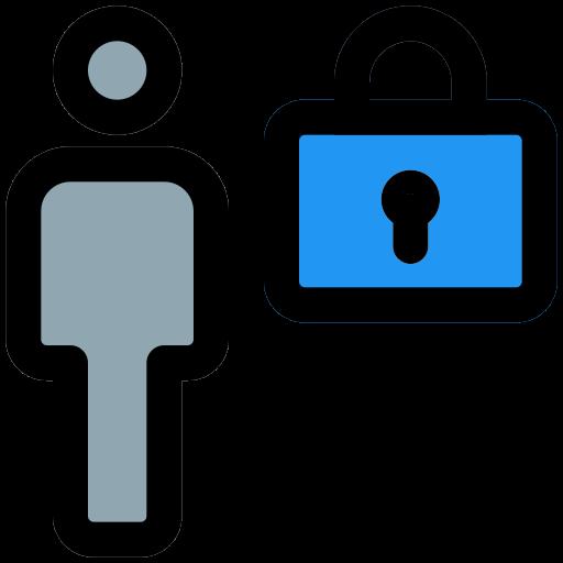 Locked  free icon
