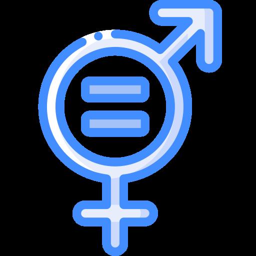 Гендерное равенство  бесплатно иконка