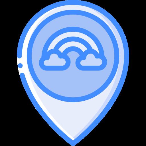 Место нахождения  бесплатно иконка