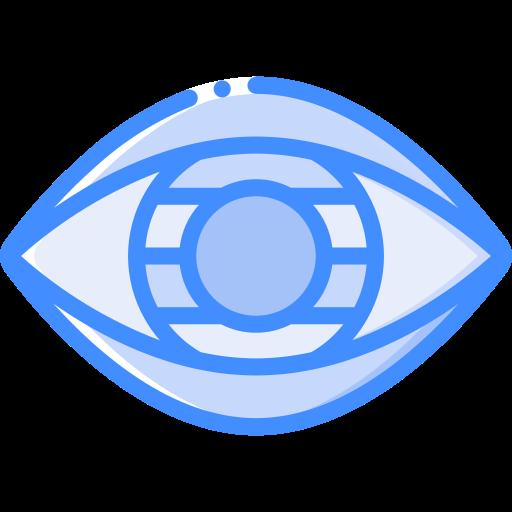 Контактные линзы  бесплатно иконка
