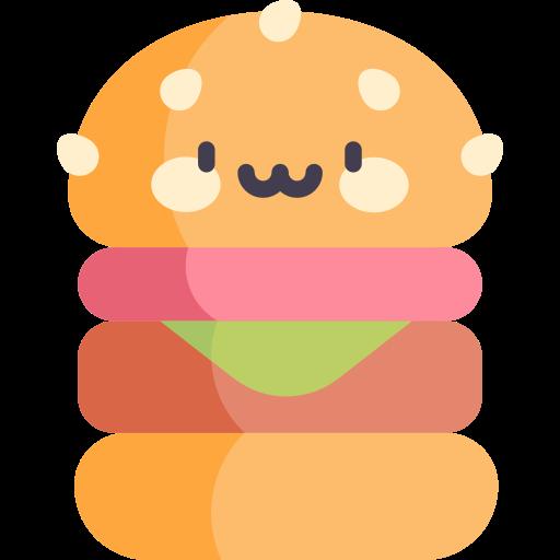 Vegan burger  free icon