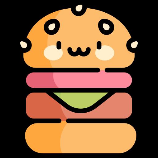 hambúrguer vegano  grátis ícone