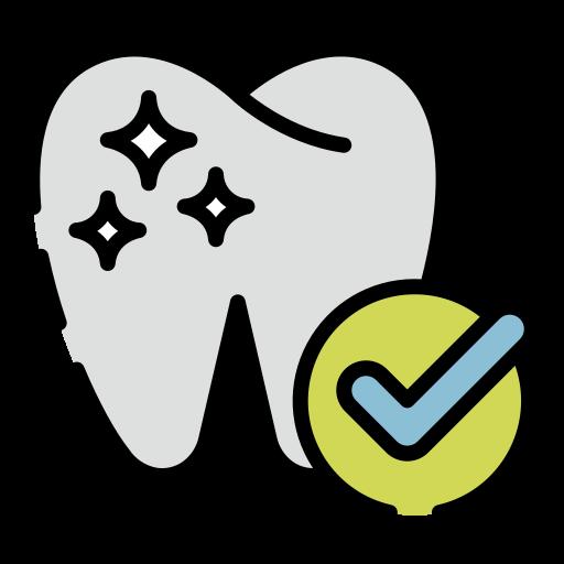 치과 검진  무료 아이콘