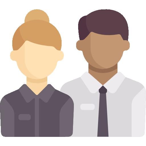 empleados  icono gratis