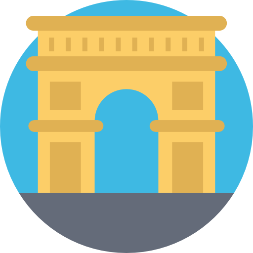 Arc de triomphe  free icon