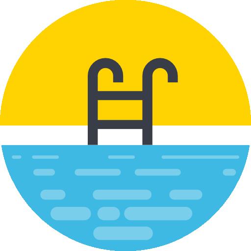 Swimming pool  free icon