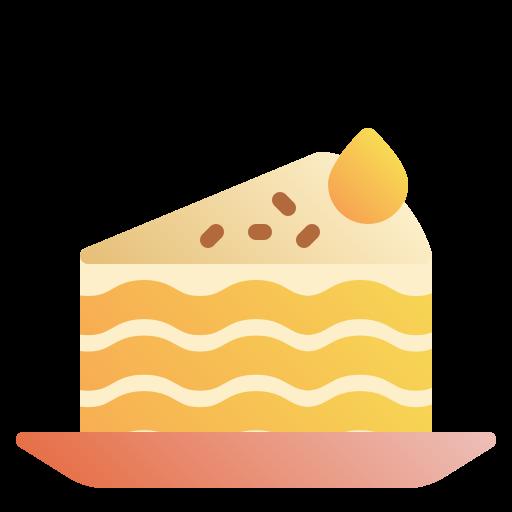 part de gâteau  Icône gratuit