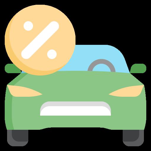 Автокредит  бесплатно иконка