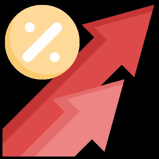 Процентная ставка  бесплатно иконка