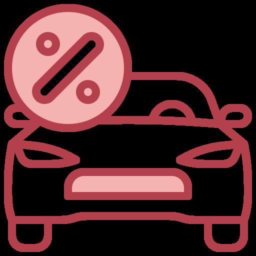자동차 대출  무료 아이콘