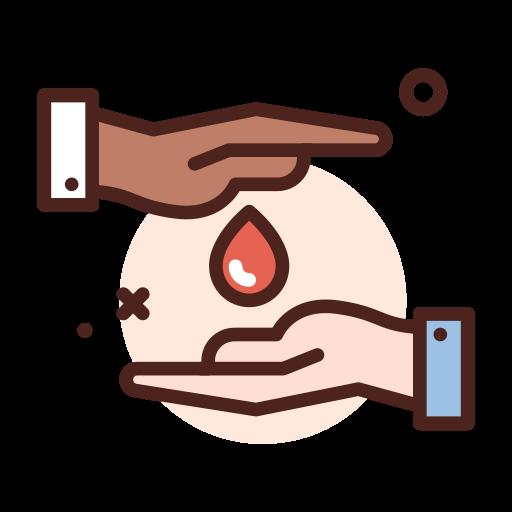 Донорство крови  бесплатно иконка