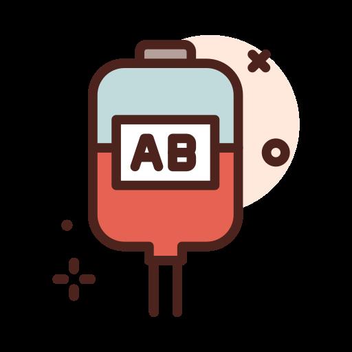 tipo sanguíneo  grátis ícone