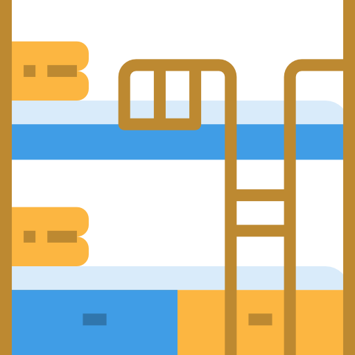 Bunk bed  free icon