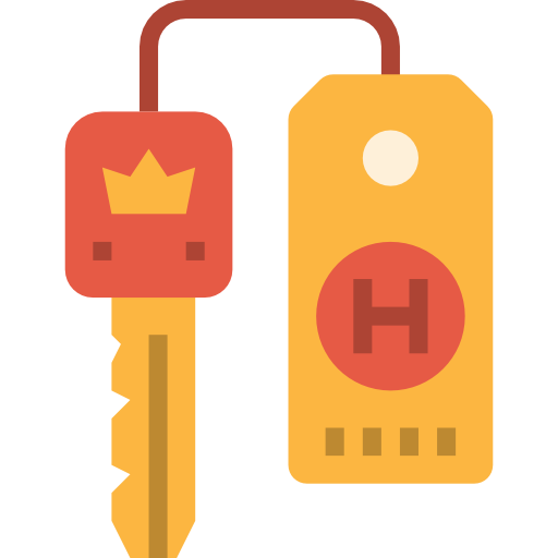 Дверной ключ  бесплатно иконка