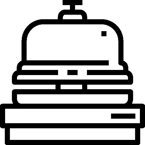 réception de la cloche  Icône gratuit