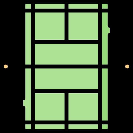 quadra de tênis  grátis ícone
