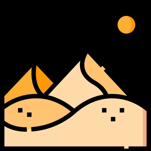 사막  무료 아이콘