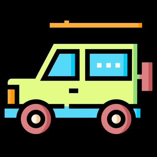 Автомобиль внедорожник  бесплатно иконка