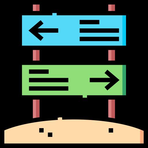 Указатель направления  бесплатно иконка