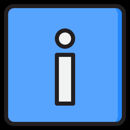 Info button  free icon