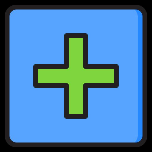 Add button  free icon