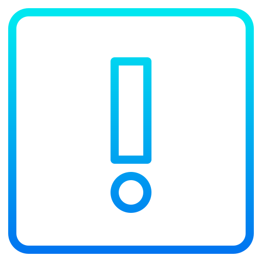 Alert sign  free icon