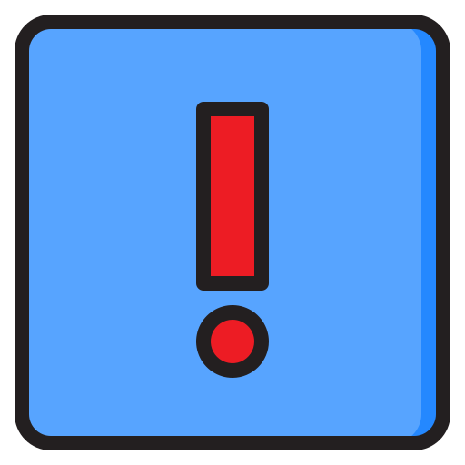 warnzeichen  kostenlos Icon