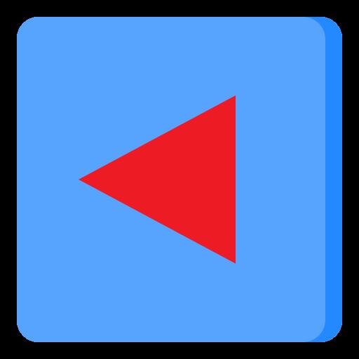 Back arrow  free icon