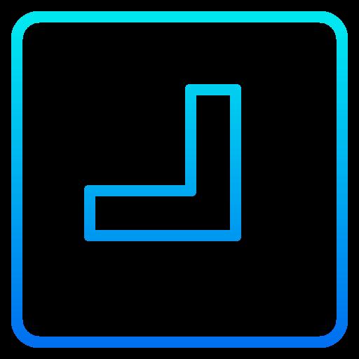 Bottom right  free icon