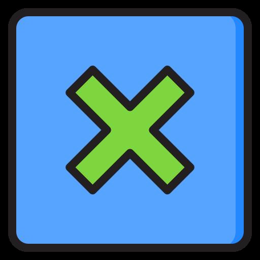 schaltfläche löschen  kostenlos Icon
