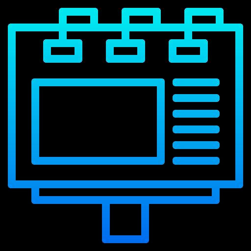 panneau d'affichage  Icône gratuit