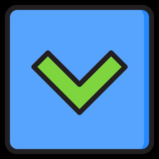 abwärtstaste  kostenlos Icon