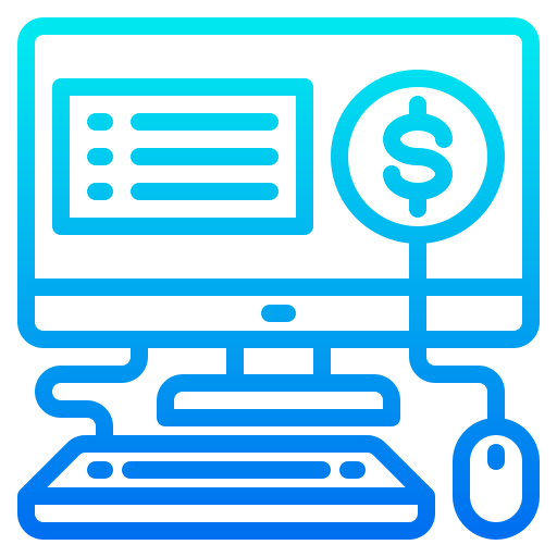 Online shopping  free icon