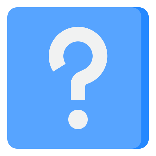 Question sign  free icon