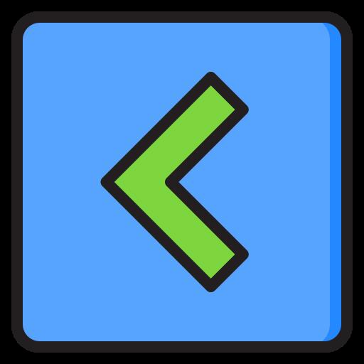 linker knopf  kostenlos Icon
