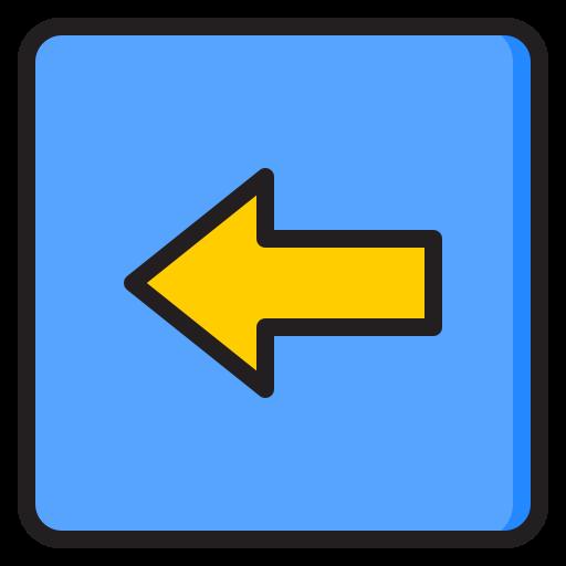 Left button  free icon