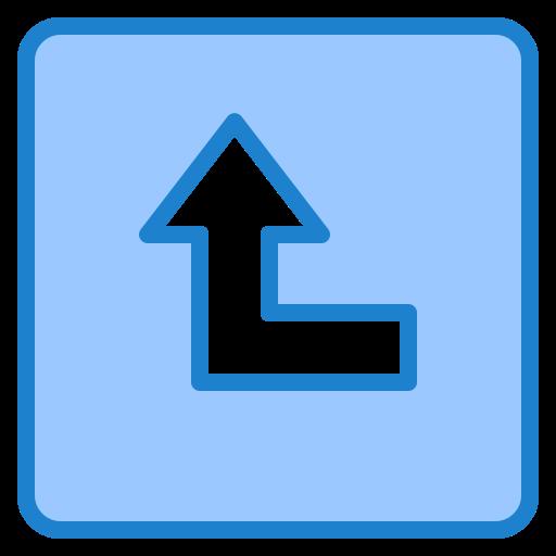 tournez à gauche  Icône gratuit