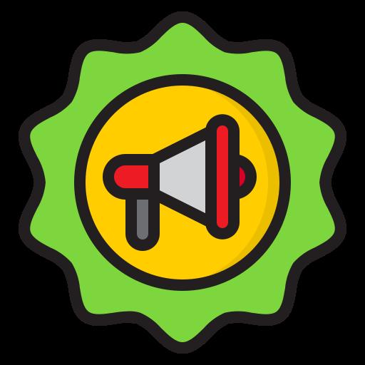 werbung  kostenlos Icon