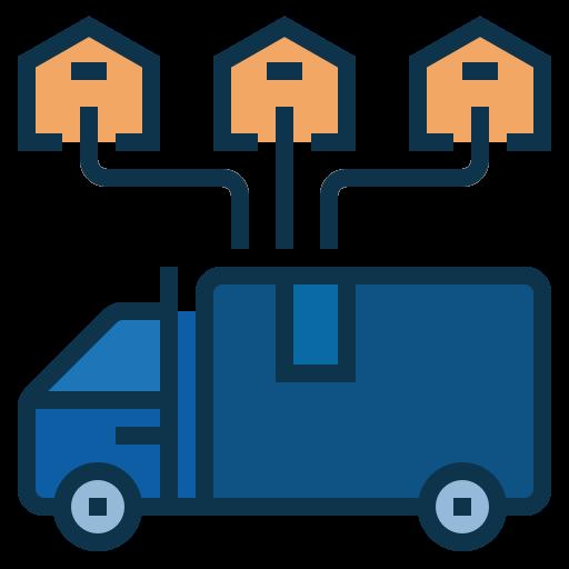 Distribution  free icon