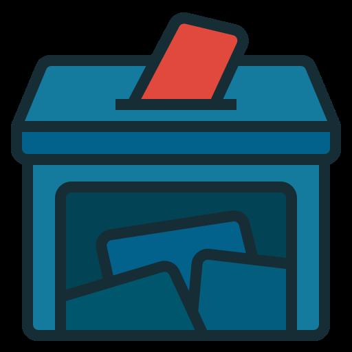 Ballot box  free icon