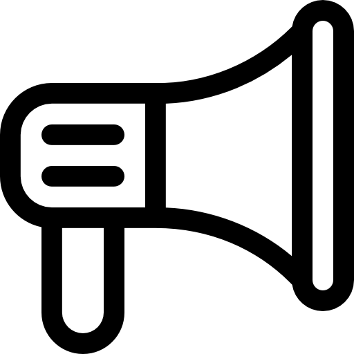 megáfono  icono gratis
